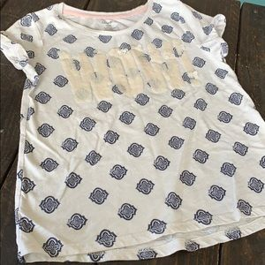 3/$27  Girl's T-shirt with sequins